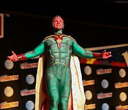 New York Comic Con 2015 - The Vision (21916157810).jpg