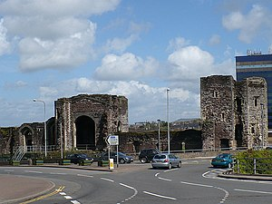 Newport Castle - Image: Newport Castle geograph.org.uk 781279