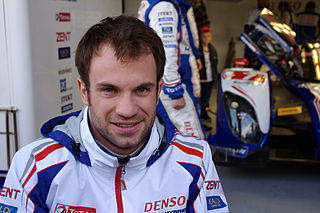 French racing driver