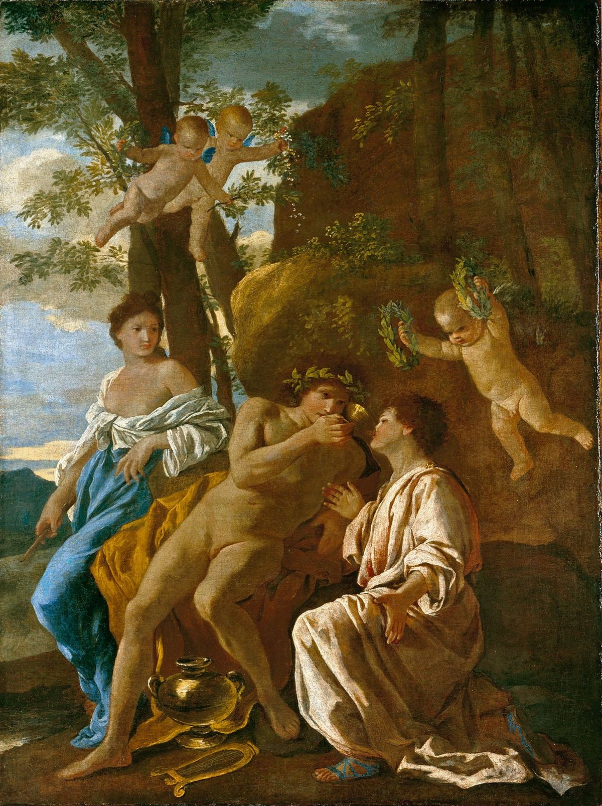The inspiration of anacreon wikidata - 4 images 1 mot poussin lapin ...