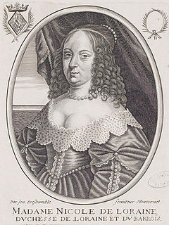 Nicole, Duchess of Lorraine French noble
