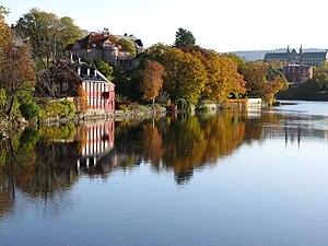 Nidelva-Trondheim-foliage