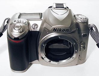 Nikon D50 - D50 body in silver.