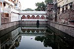 Baoli at Ghiaspur, also known as Nizamuddin Baoli