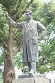 Noguchi Hideyo memorial, sculpted by Yoshida Saburo - Ueno Park, Tokyo - DSC08660.JPG