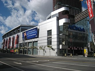 Microsoft Theater - Exterior of venue (c. 2008)