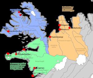 Northwest (Icelandic constituency) - Image: Norðvesturkjördæmi
