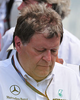 Norbert Haug German journalist and former motorsport manager of Mercedes-Benz