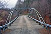 Whipple Cast and Wrought Iron Bowstring Truss Bridge