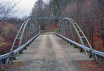 Normanskill Farm Bridge, Albany, NY, deck view from west.jpg