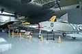 North American FJ-3 Fury Republic F-84F Thunderstreak LFronts EASM 4Feb2010 (14587801651).jpg