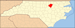 North Carolina Map Highlighting Franklin County.PNG