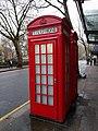 Northernmost Of Pair Of K2 Telephone Kiosks Next To Sadler'S Wells.jpg
