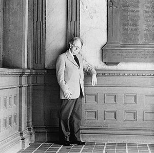 The Frye Festival - Northrop Frye, for whom the festival is named, in 1984