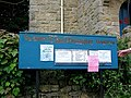 Noticeboard, St Christopher's Church - geograph.org.uk - 848503.jpg