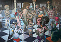 Notrica 32nd street market oil on canvas 50 by70 jan-27-09.jpg