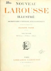 Claude Augé: Nouveau Larousse illustré