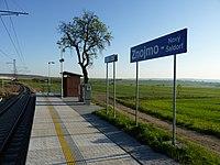 Nový Šaldorf-Sedlešovice, železnice.JPG