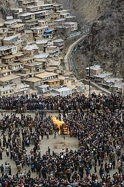 Nowruz in Tangi Sar, Kurdistan province