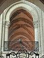 Noyon (60), cathédrale Notre-Dame, croisillon nord, vue dans les tribunes du chœur.jpg