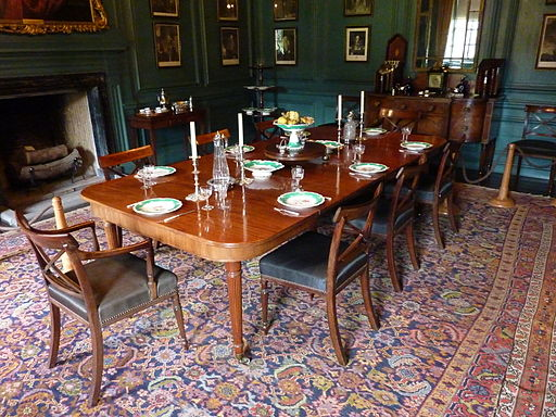 Nunnington Hall Dining Room