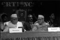 Nurul Hasan and Shankar Dayal Sharma - Dedication Ceremony - CRTL and NCSM HQ - Salt Lake City - Calcutta 1993-03-13 03.tif