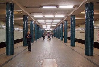 Nyvky (Kiev Metro) - The Station Hall