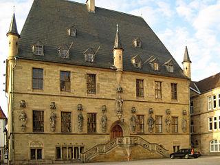 Osnabrück Town Hall town hall of Osnabrück