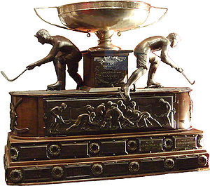 National Hockey Association - O'Brien Cup, the championship trophy of the NHA. The NHL would continue using it after 1917.