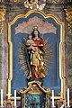 Oberndorf am Lech, St Nikolaus, Altar 005.JPG