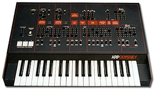 ARP Odyssey analog synthesizer from 1972