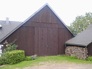 Herbstmusik - The Oeldorf barn where Herbstmusik was first rehearsed