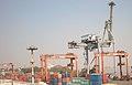 Offloading of ship in Bombay Port.JPG