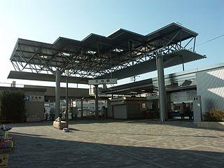 Ōji Station (Nara) Railway station in Ōji, Nara Prefecture, Japan