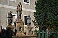 Okounov - Sochy - soubor soch P. Marie, sv. Štěpána a sv. Vavřince.jpg