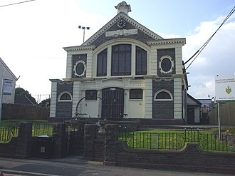 Church Village - Image: Old Carnegie Library, Church Village