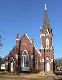 Old Congregational Church, Ft Scott, from E 1.jpg