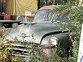 Old Oldsmobile car at Snack Bar, Keno City, Yukon (3894643893).jpg