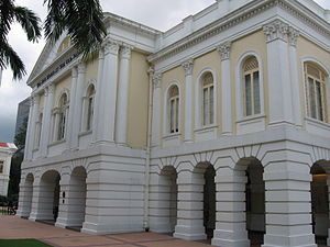 Sedition Act (Singapore) - Old Parliament House, photographed in January 2006