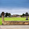 Old disused church yard demolished to make way for new road - panoramio.jpg
