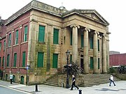 Oldham's Old Town Hall, is an unused neo-classical town hall built in 1841.