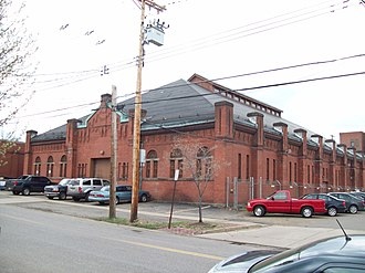 Olean Armory - Olean Armory, April 2010