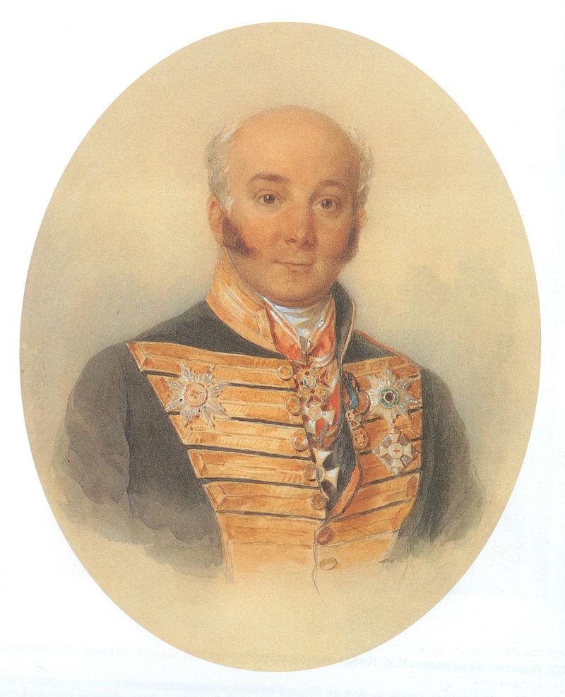 Акварель П. Ф. Соколова, 1846 год