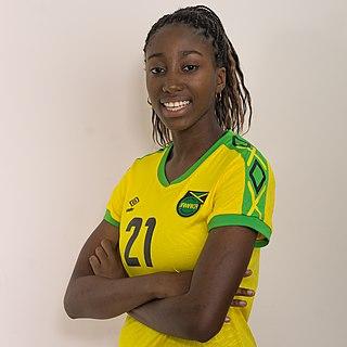 Olufolasade Adamolekun American-born Jamaican footballer