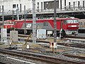 Omiya G-R-S-C Railway motor car HTM270 OM-2 & EH500-68 of JR Freight.jpg