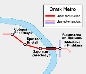 Image illustrative de l'article Métro d'Omsk
