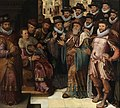 Oordeel van Cambyses. Gevangenneming van Sisamnes, circa 1576 - circa 1600, Groeningemuseum, 0040194000.jpg