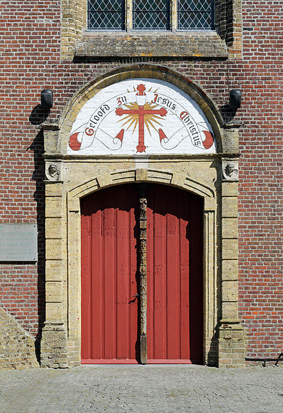 Oostkamp (province of West Flanders, Belgium): St Peter's church - detail
