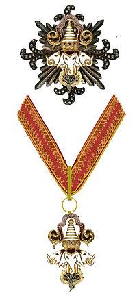 Orde van de Miljoen Olifanten en de Witte Parasol van Laos.jpg