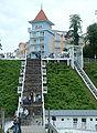 Ostseebad Sellin Treppe zur Seebrücke.JPG